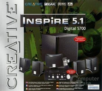 Inspire 5.1 Digital 5700 - Verpackung