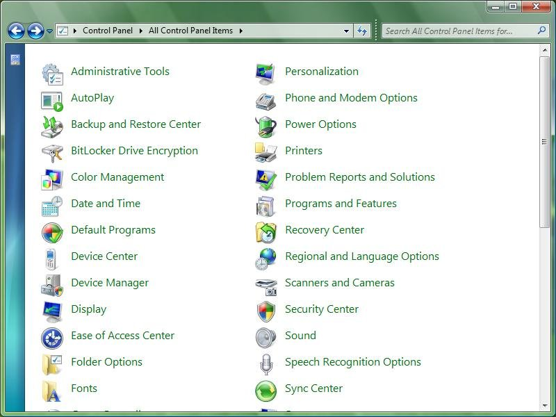 Windows 7 (Vienna) Milestone 1 – Quelle: Thinknext.net