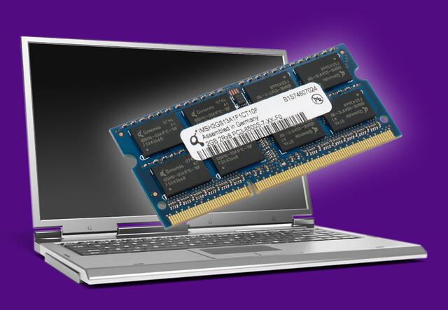 DDR3 SO-DIMM von Qimonda