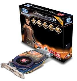 Sapphire ATi Radeon HD 3850 1024 MB