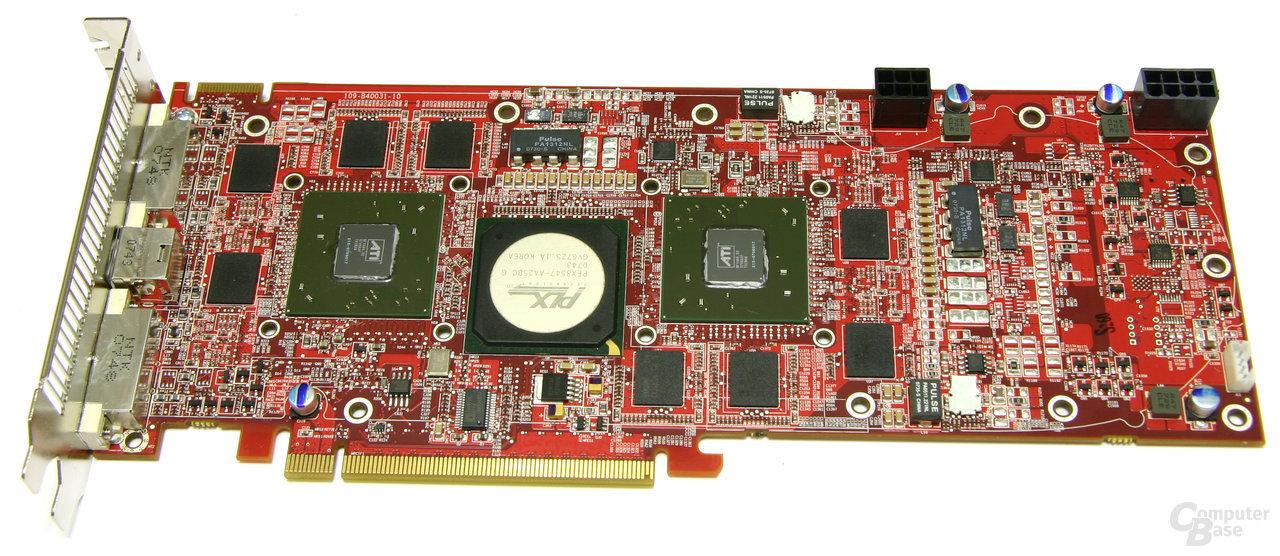 """ATi Radeon HD 3870 X2 """"lang"""""""