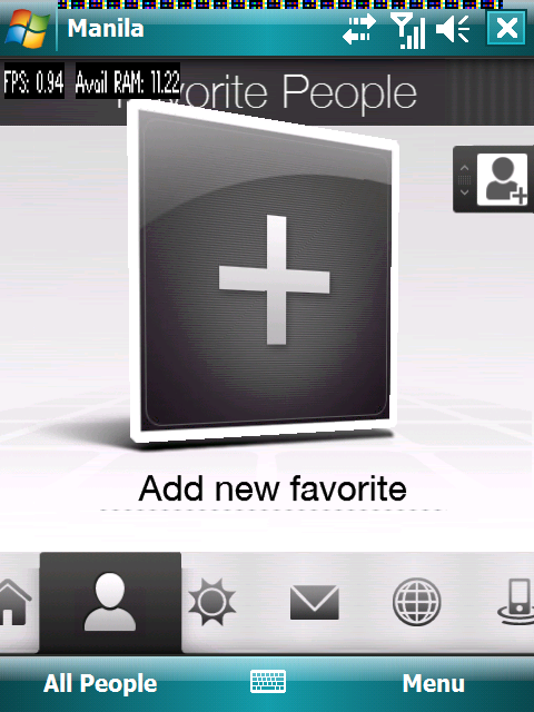 HTC Manila (TouchFlo 2) – Quelle: PocketPC.ch