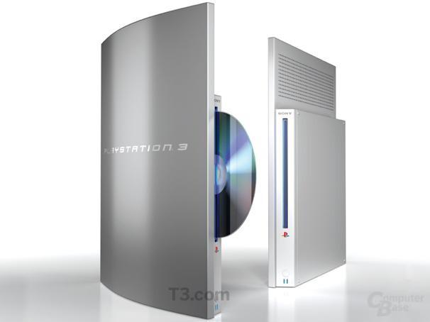 Designentwurf einer schlanken PSThree (nicht von Sony!)