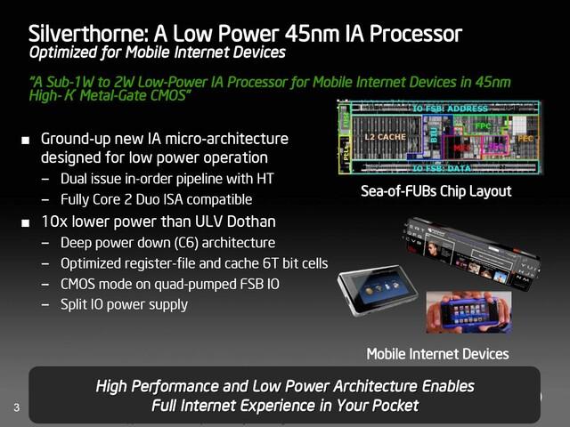 Intel Silverthorne – 1 bis 2 Watt Verbrauch und bis zu 2 GHz Prozessortakt