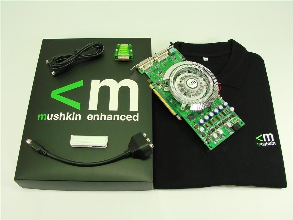 Mushkin GeForce 8800 GT HP Overclocked Edition v2