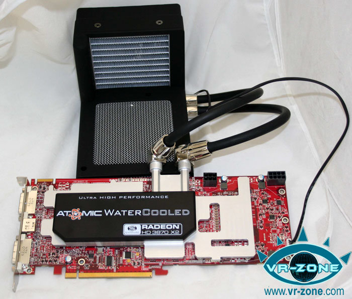 Sapphire Atomic Radeon HD 3870 X2
