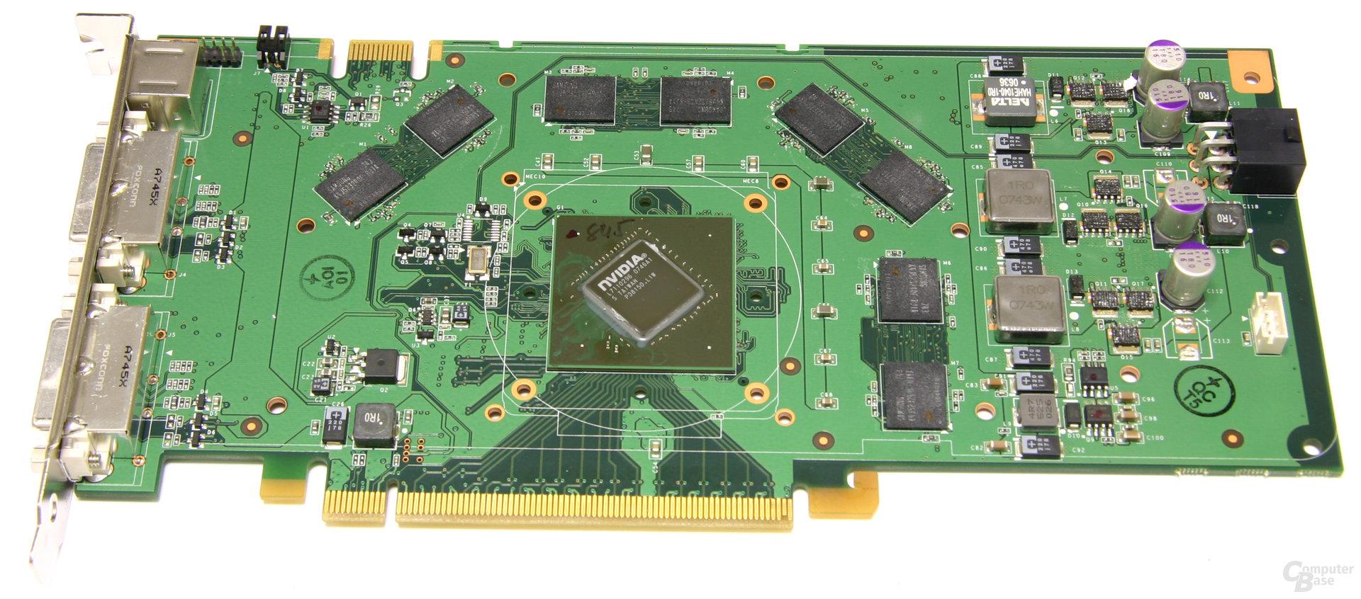 GeForce 9600 GT ohne Kühler