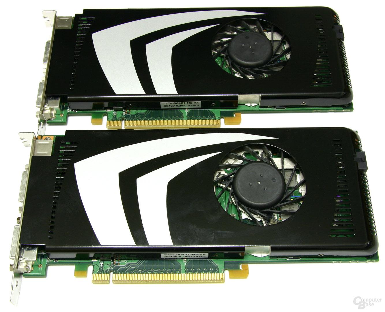 Nvidia GeForce 9600 GT SLI