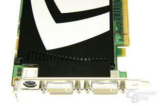 GeForce 9600 GT Frontansicht