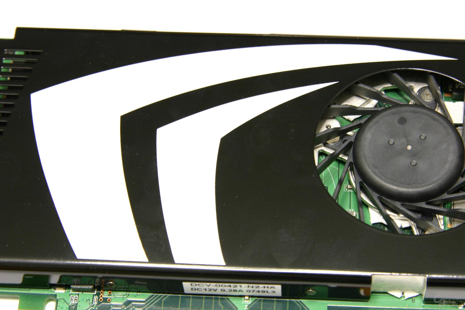 GeForce 9600 GT Kühlerlogo