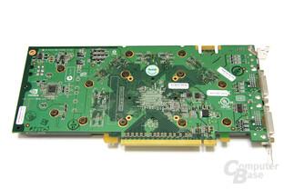 GeForce 9600 GT Rückseite
