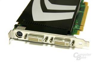 GeForce 9600 GT Slotblech
