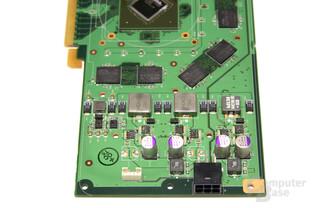 GeForce 9600 GT Spannungswandler