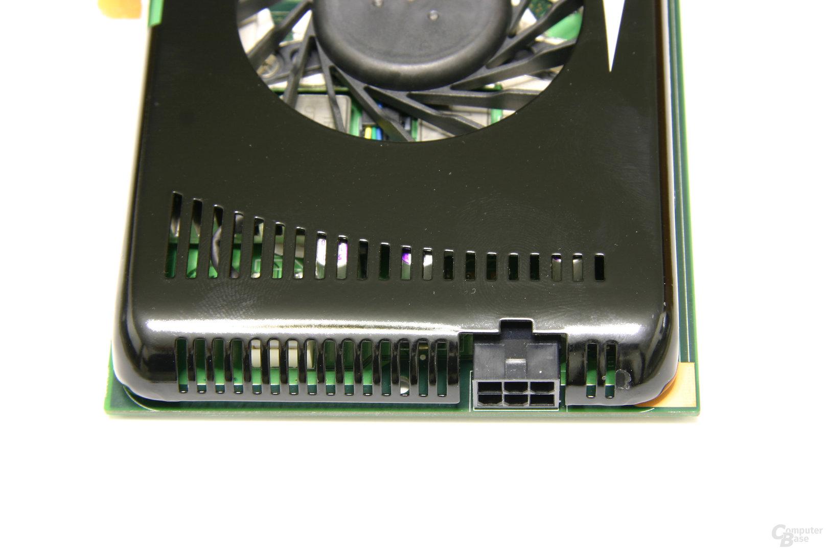 GeForce 9600 GT Stromanschluss