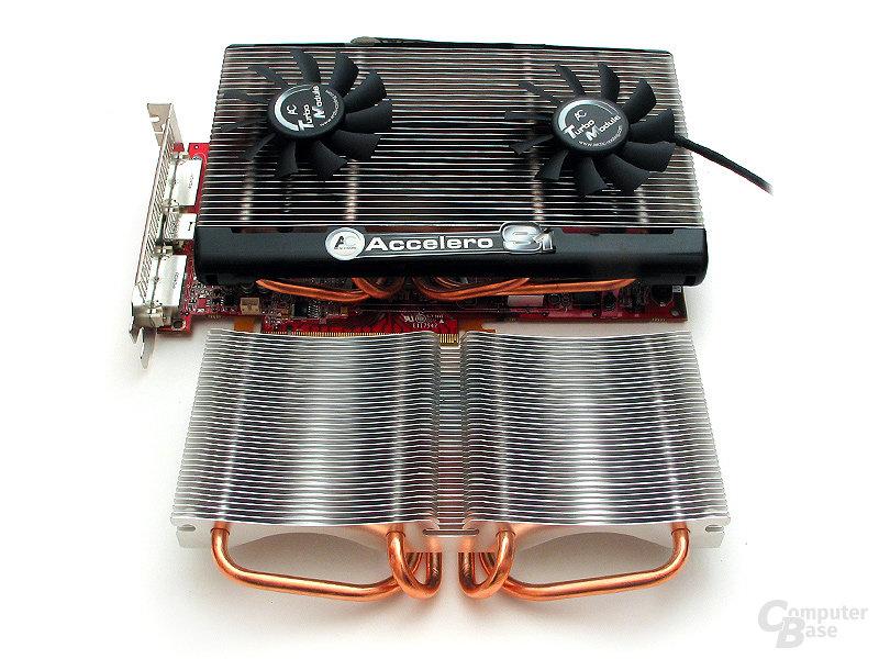 Trotz guter Ansätze kann der Xigmatek-Neuling dem AC Accelero nicht gefährlich werden