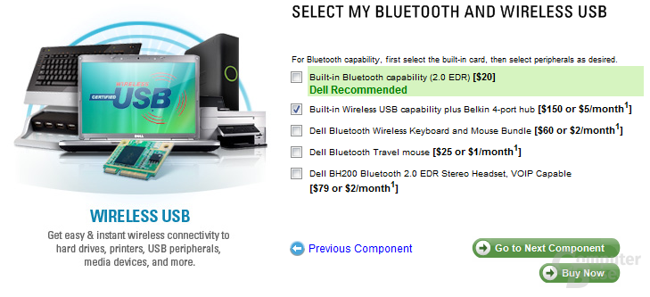 Dell Wireless USB Konfiguration