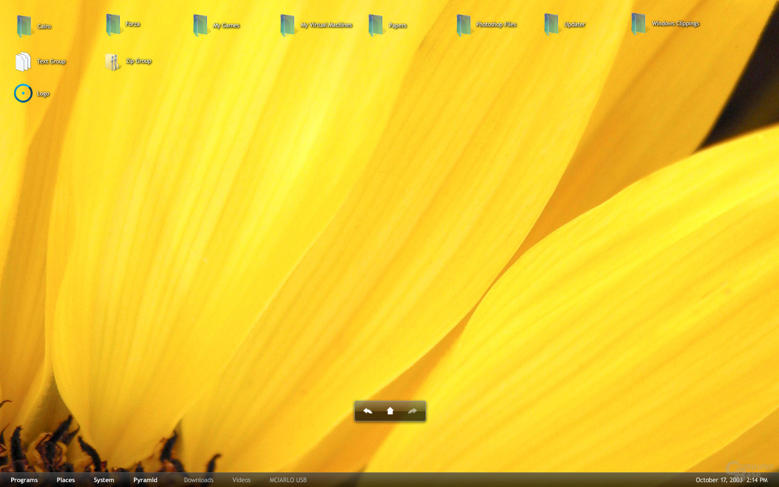 Cairo Dynamic Desktop