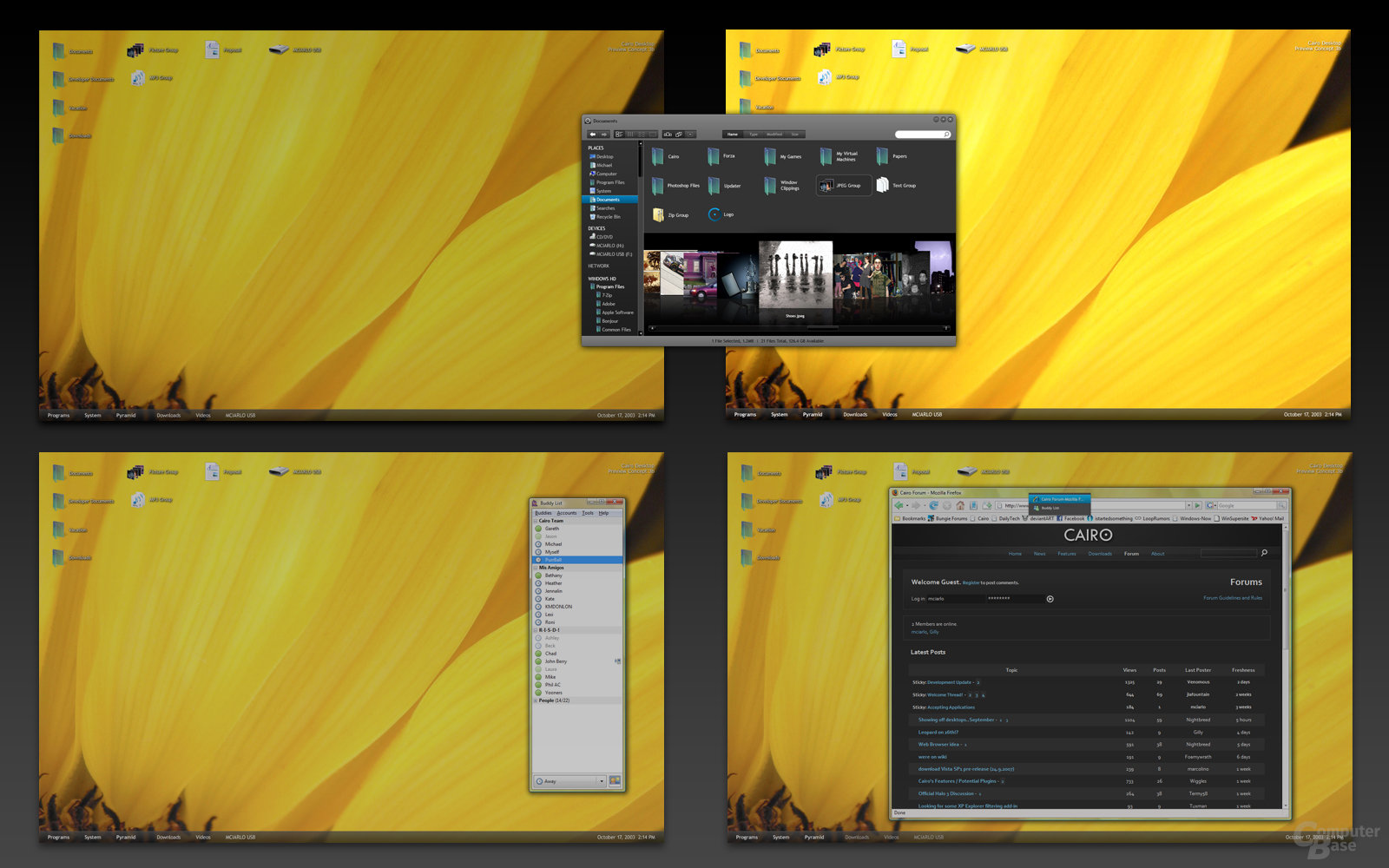 Cairo Desktop-Switching
