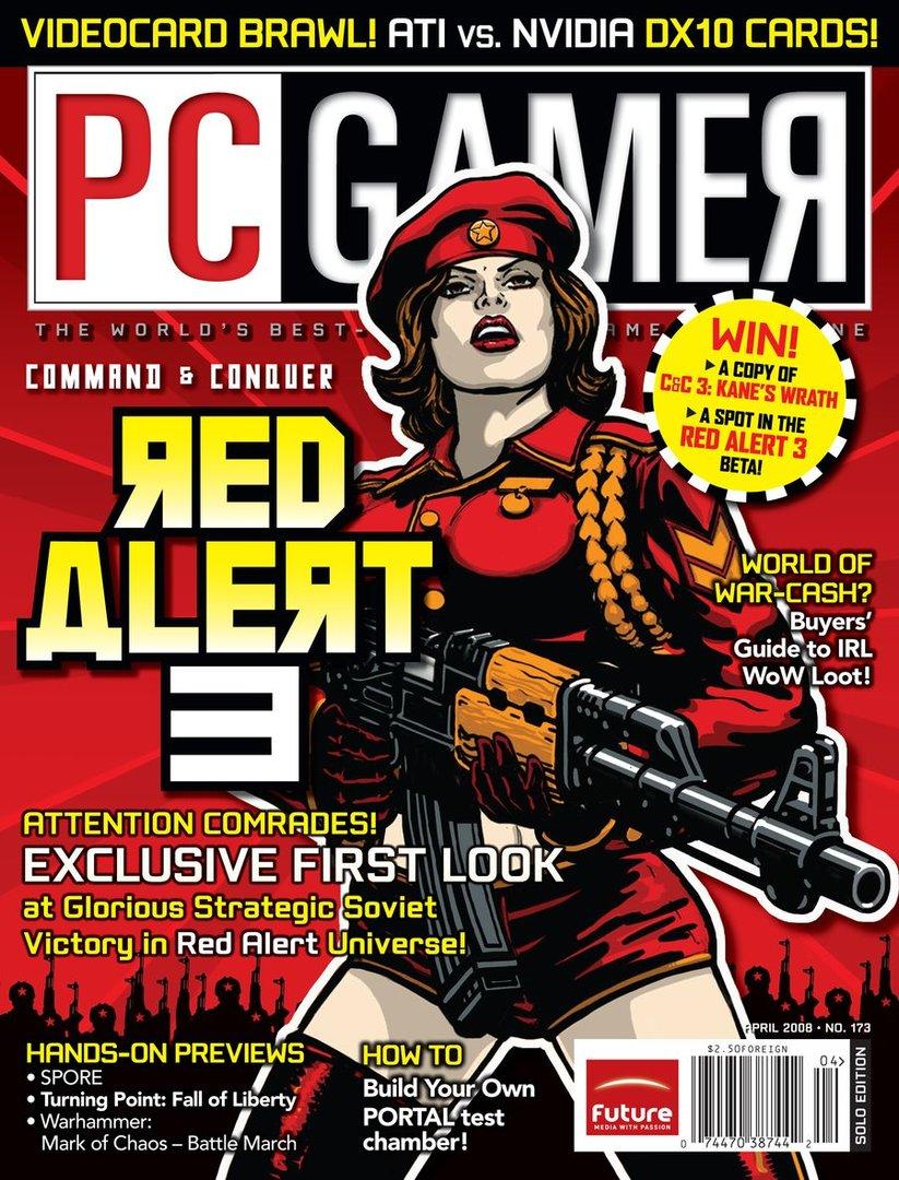PC Gamer Ausgabe 04/08