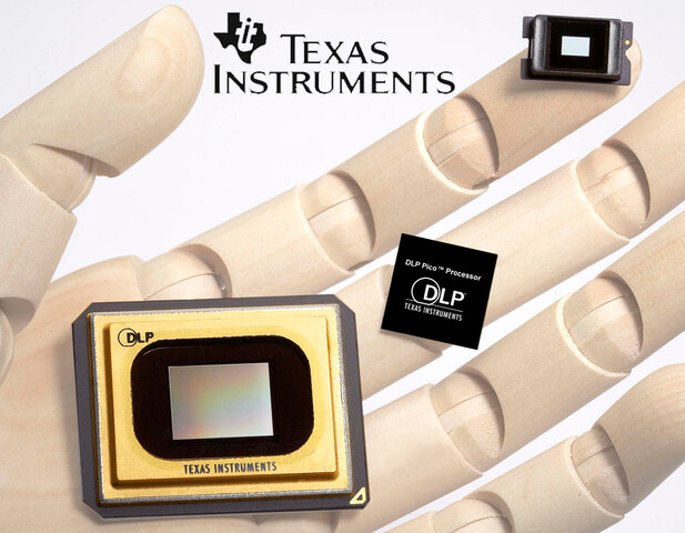 DLP-Chips von Texas Instruments