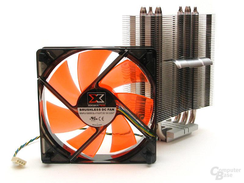 PWM-LED-Lüfter mit maximal 1500 U/min