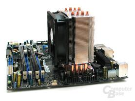 Push-Pin-Montage für Intel, Klammer für AMD