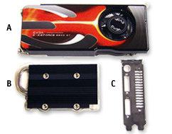 EVGA AKIMBO Dual-Slot-Fan-Kit für 8800 GT