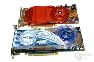 HIS HD 3850 IceQ3 und das Referenzdesign