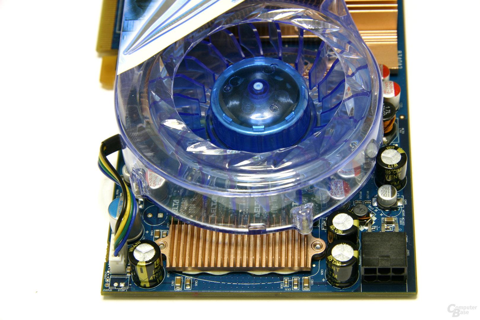Radeon HD 3850 IceQ3 Turbo X Spannungswandler
