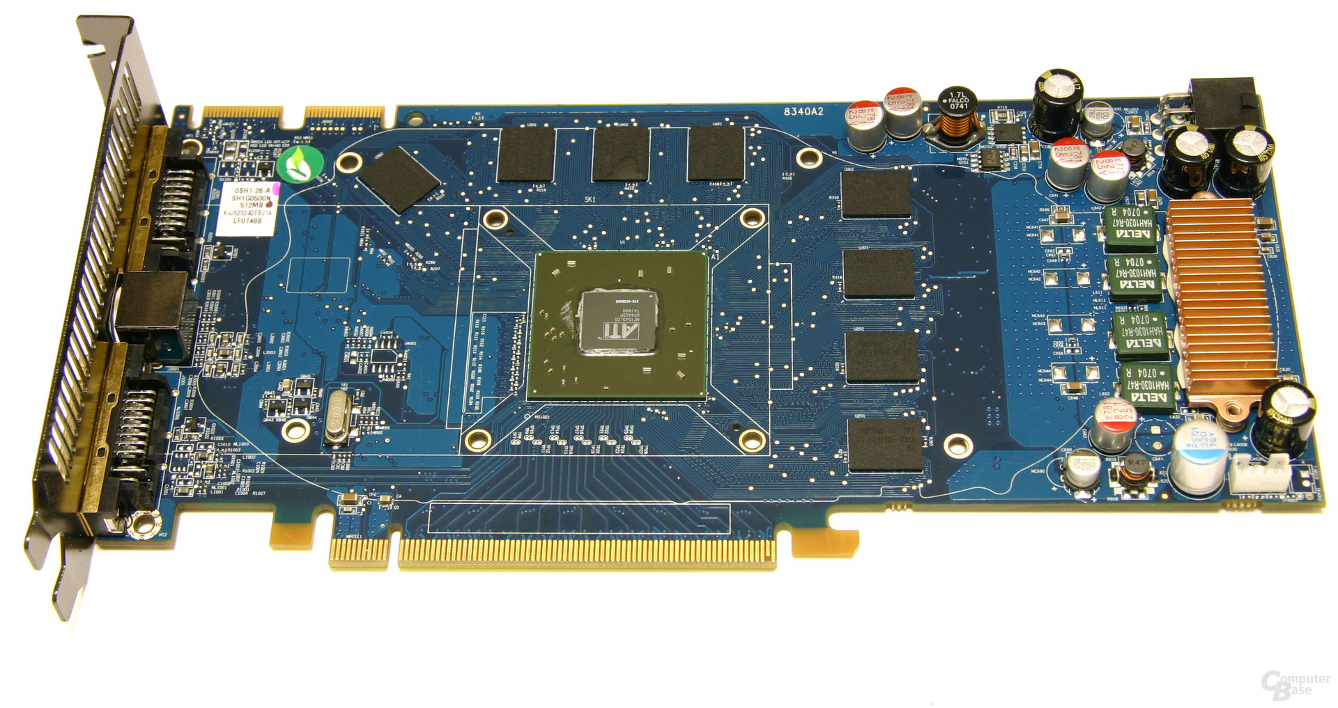Radeon HD 3850 IceQ3 Turbo X ohne Kühlkörper