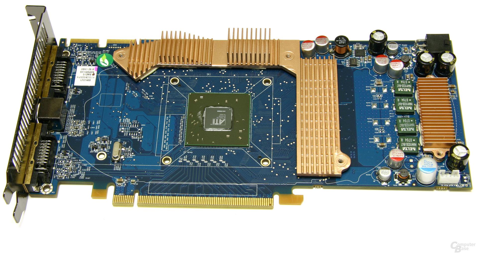 Radeon HD 3850 IceQ3 Turbo Speicherkühler