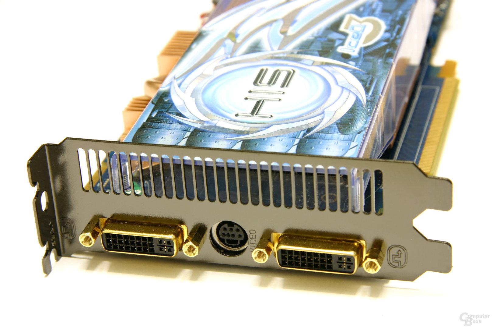 Radeon HD 3850 IceQ3 Turbo X Slotblech