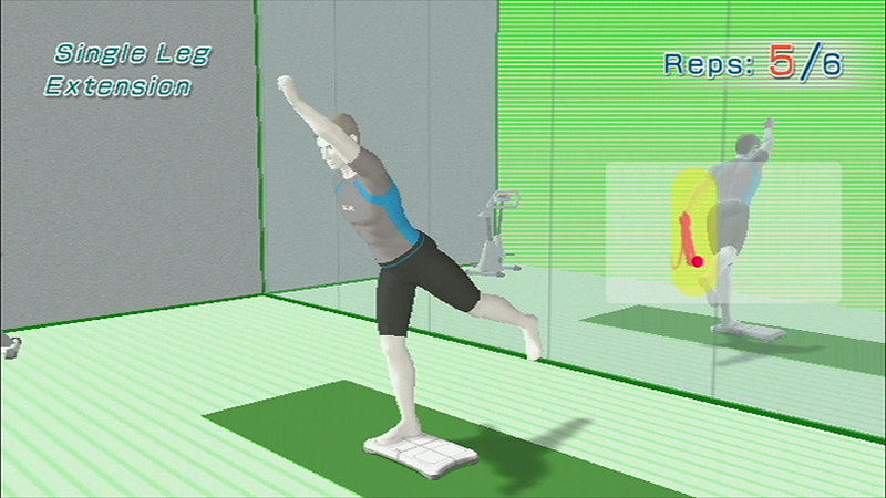 Wii Fit Muskeltraining