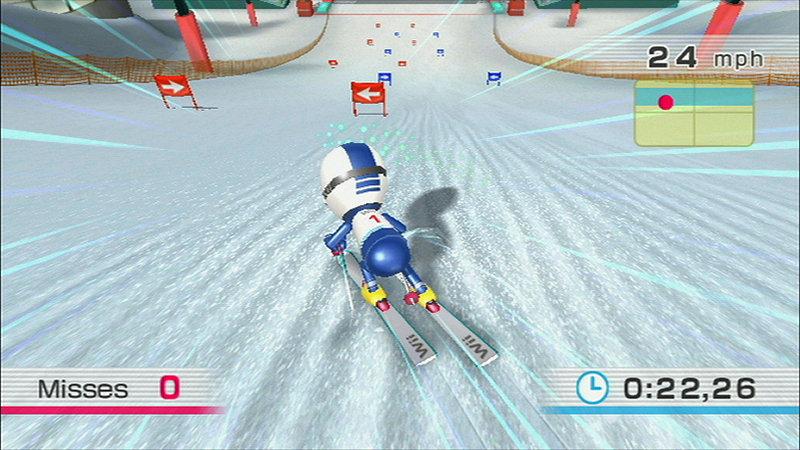 Wii Fit Ski Slalom