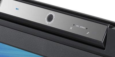Integrierte, schwenkbare Kamera
