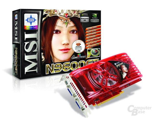 MSI GeForce 9600 GT