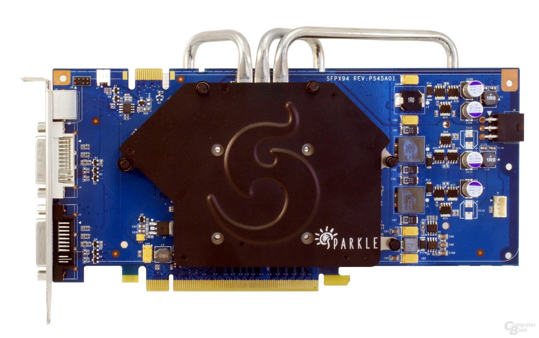 Sparkle GeForce 9600 GT Passiv