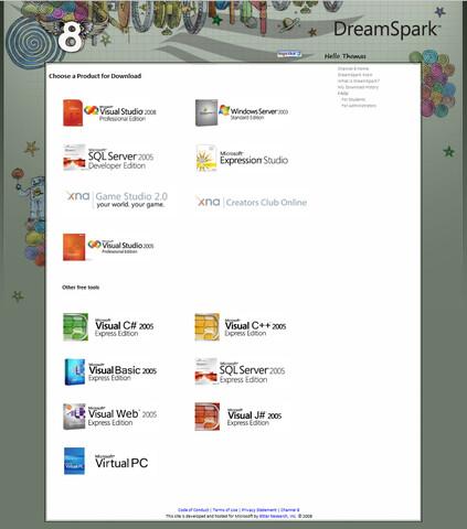 Microsoft DreamSpark: Kostenlose Entwicklungstoolsfür Studenten aller Fachrichtungen