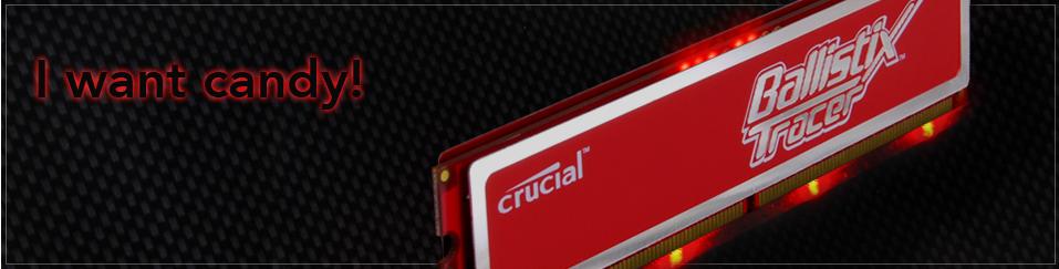 Crucial Ballistix Tracer Red