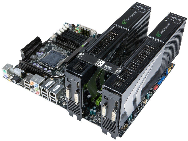 Nvidia GeForce 9800 GX2 Quad-SLI