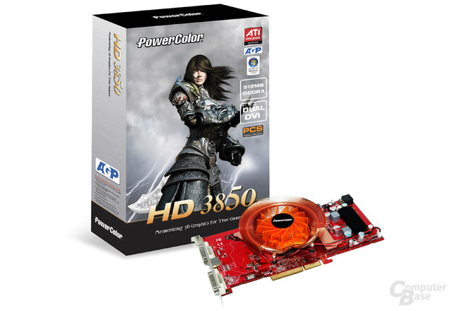 PowerColor Radeon HD 3850 PCS AGP (512 MB)