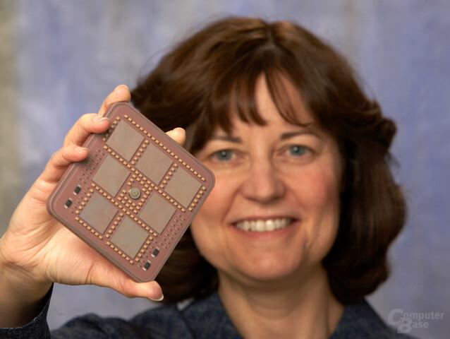 IBM z10 MCM – Prozessormodul mit 20 Cores und 108 MB Cache