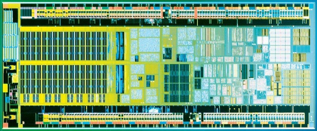 Intel Atom (Silverthorne) Die-Shot
