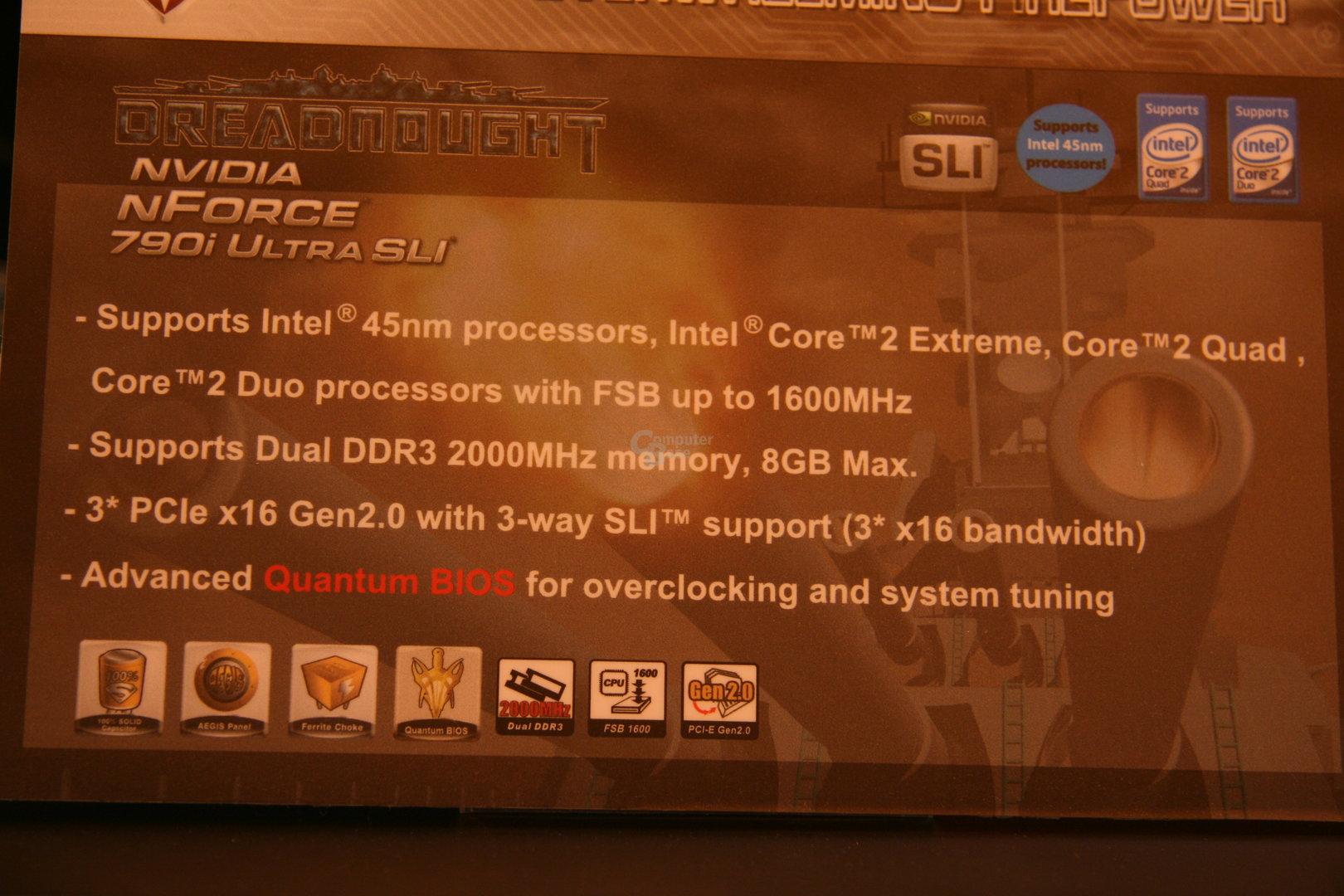 Foxconn GeForce 9800 GX2 Benchmark