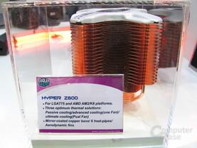 Coolermaster Z600 in Kupfer