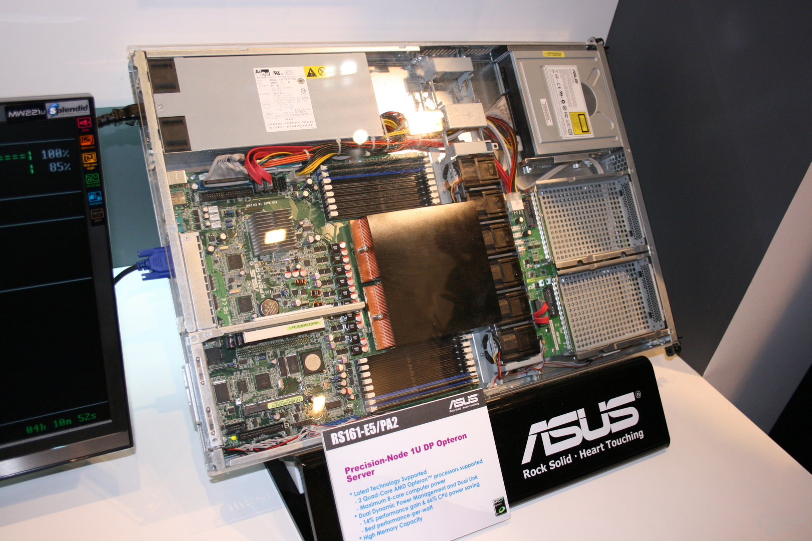 Cebit 2008: Asus Server- und Workstation Mainboard