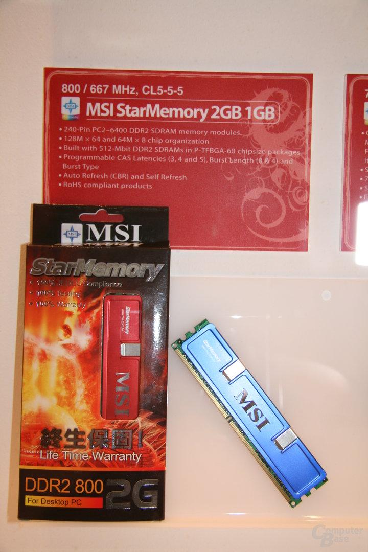 MSI StarMemory