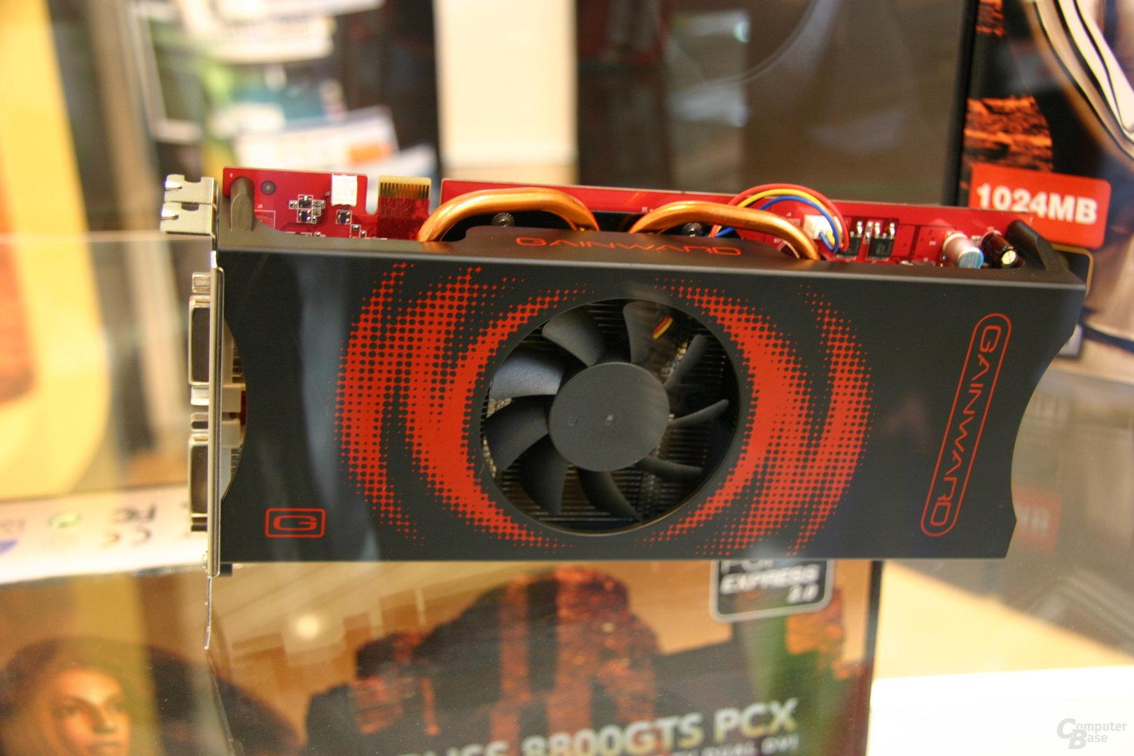 Gainward GeForce 8800 GTS 512 1024 MB