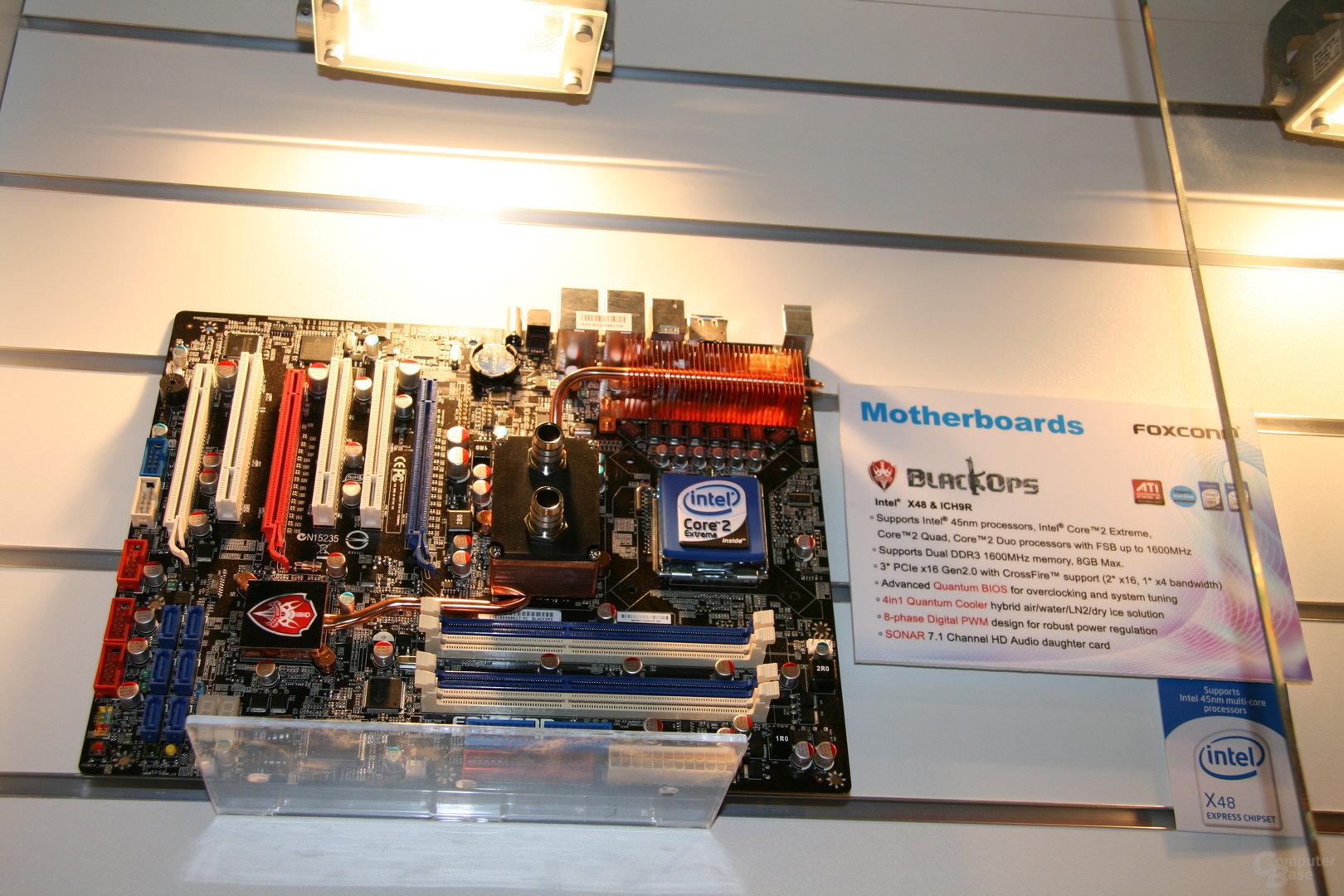 X48 von Foxconn mit DDR3