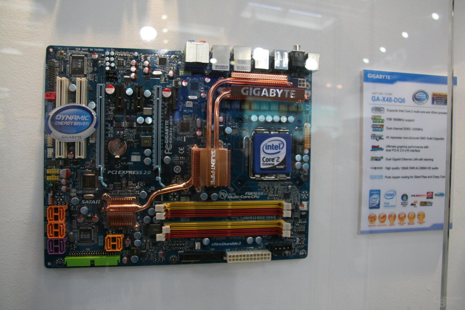 X48 von Gigabyte mit DDR2